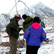 researchers at the Niwot Ridge research site