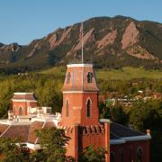 Old Main during spring