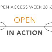 International Open Access Week 2016 - Open in Action