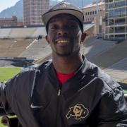 Ozell Williams at Folsom Field