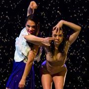 Parallax dance recital