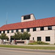 CU Police Department building on campus