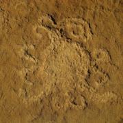 Piedra del Sol petroglyph at Chaco Canyon, New Mexico