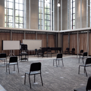A new rehearsal room in the expanded Image Music Building