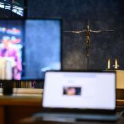 Catholic Church services are being streamed through YouTube