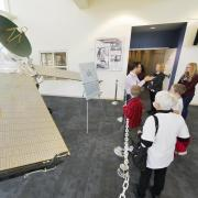 A tour of LASP during Research and Innovation Week