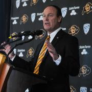 CU Boulder Athletic Director Rick George