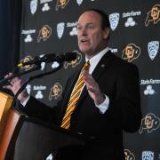 CU Boulder Athletic Director Rick George