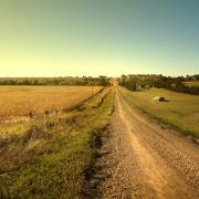 Rural American farm