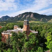 Old Main on CU Boulder campus.