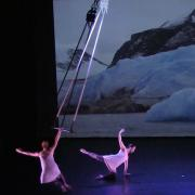 Scene from SciDance performance