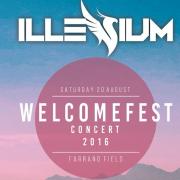 Illenum, welcomefest concert, Farrand Field, August 20