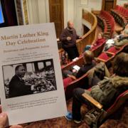 MLK Day event program.