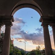 Sewall Hall arches