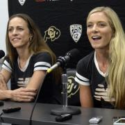 Jenny Simpson and Emma Coburn, courtesy of www.buffzone.com