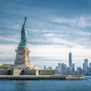 Statue of Liberty at Ellis Island