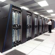 Stock photo of a supercomputer
