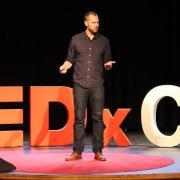 TEDxCU 2016 speaker Scott Carney