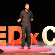 TEDxCU speaker from a previous year