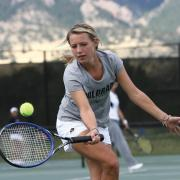 CU tennis player