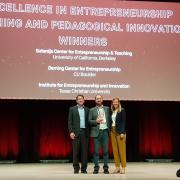 Award winners at the Global Consortium for Entrepreneurship Centers event