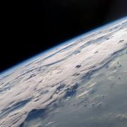 Thunderstorm from space