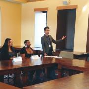 Man speaks at TRANSforming Gender Conference session