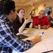 STEM faculty and instructors discuss course design