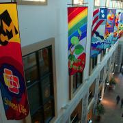 UMC atrium banners