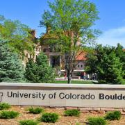 University of Colorado Boulder sign