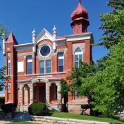 Temple Aaron synagogue, located in Trinidad, Colorado, is the state's oldest synagogue. Photo credit:Louis Davidson (Synagogues 360)