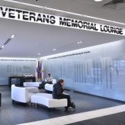Veterans Memorial Lounge in the CU Boulder University Memorial Center
