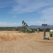 Surfaces equipment at an oil and gas extraction site in the San Juan Basin. (Photo: Gabrielle Pétron/CIRES)