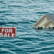House for sale several feet under the water