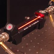 A component in an extreme ultraviolet laser.
