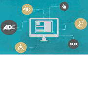 Computer and accessibility graphic