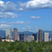 Skyline of Denver