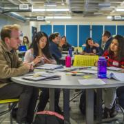 Design for America students collaborate on project