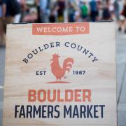Boulder Farmer's Market sign