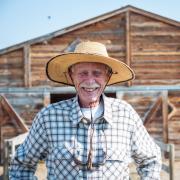 Farm and barn owner, Richard Cargill.