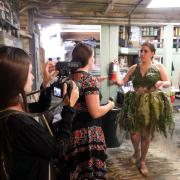 CU Boulder students photograph Recycled Runway participants