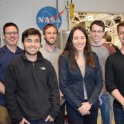 CU Boulder engineering students named one of five finalists in the NASA BIG Idea Challenge with their Mars Autonomous and Foldable Solar Array, or MAFSA. Photo by @CUEngineering.