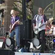 Band plays at Welcomefest 2016