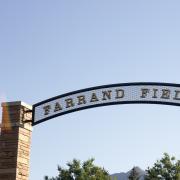 Farrand Field entrance