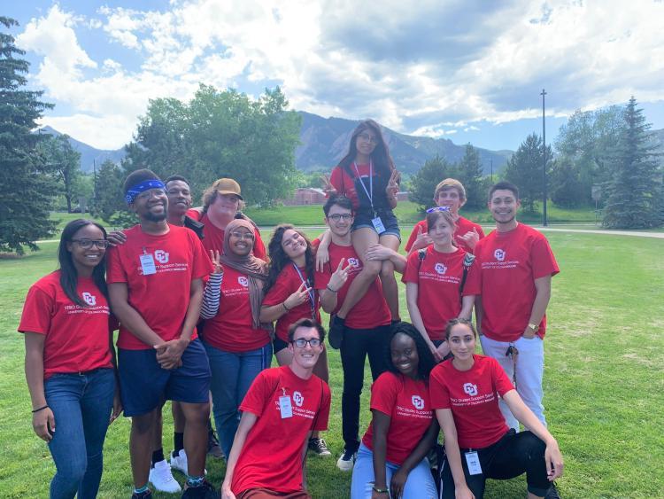 TRiO SSS Peer Mentors from Summer Ready 2019