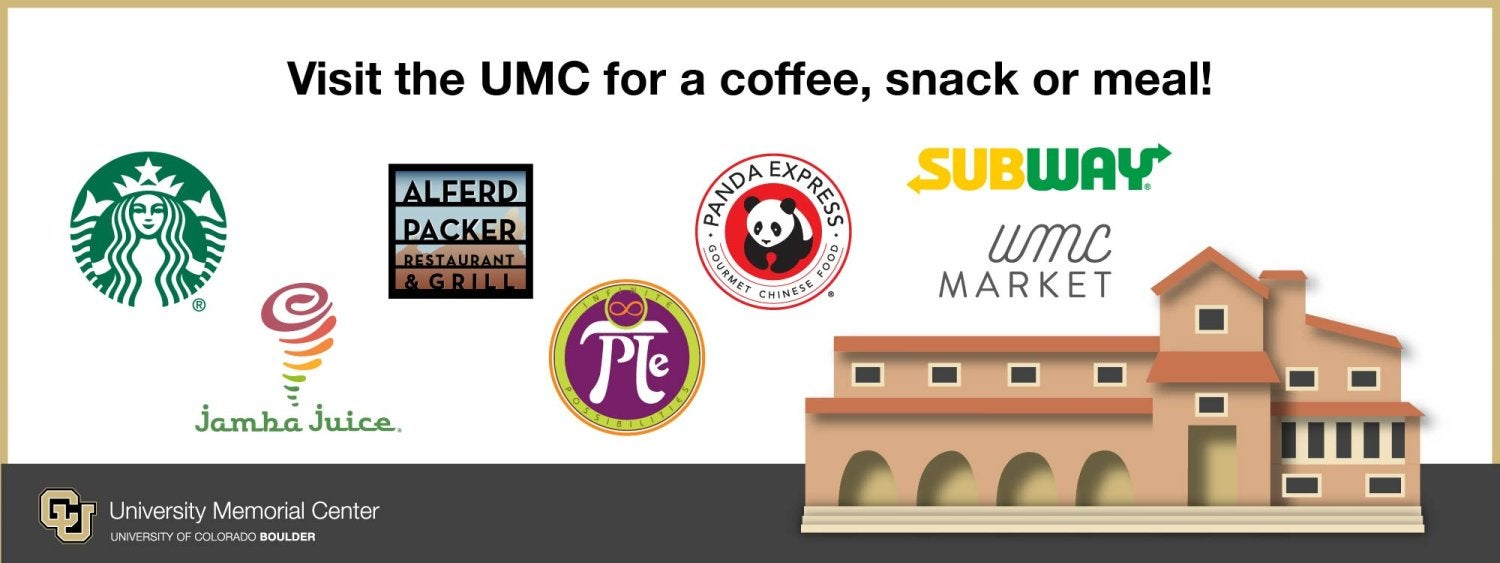 Dining options at the UMC