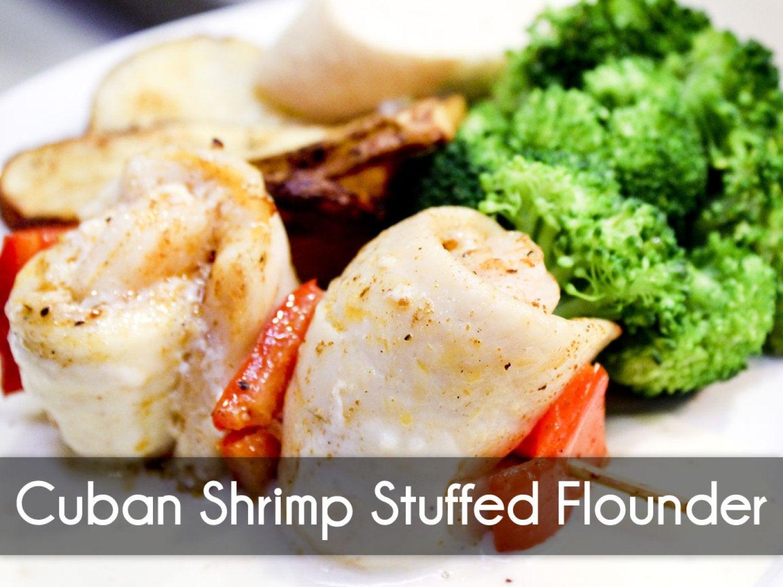 Cuban Shrimp Flounder