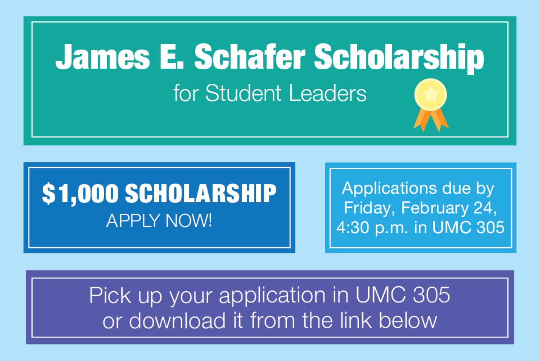 James E. Schafer Scholarship