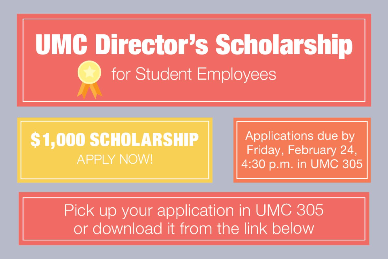 UMC Director's Scholarship