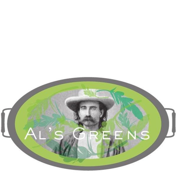 Al's Greens Salad Bar sign
